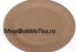 Тарелка одноразовая круглая ламинированная (без тематики) 23 см