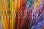 Трубочка с цветными полосками с заостренным окончанием 210x12 мм. (каждая трубочка упакована)