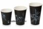 Стакан однослойный для горячих и холодных напитков в ассортименте (Черный)