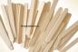 Деревянные палочки для мороженого (180 x 6 x 1,3 мм.)