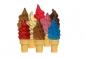 """Глазурь декоративная для мороженого """"Тропические фрукты"""", ведро п/э 700 грамм"""